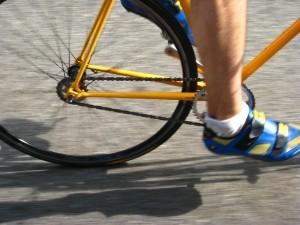 comment vous entraînez-vous en descente en vélo ?