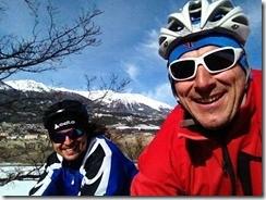 entrainement vélo entre copains