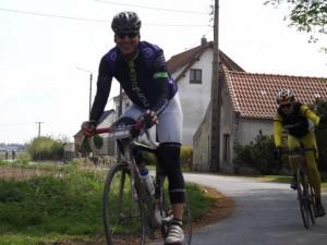 nico à Paris Roubaix 2014