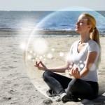 bulle méditation et cyclisme