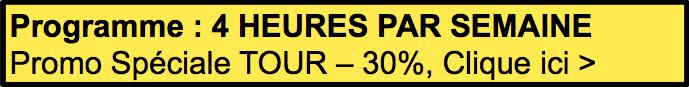 programme d'entrainement TOUR