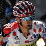 grimpeur, hydratation, boire, montagne, vélo, cycliste