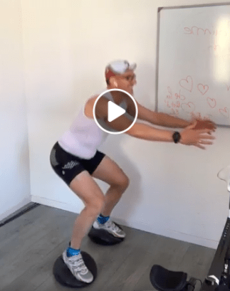 Séance Home Trainer 45 + Squat