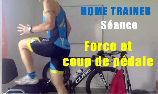 Séance home trainer Force et renforcement sur 45 minutes