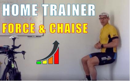 Home trainer en Force et Chaine statique