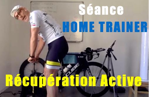Séance Home Trainer de récupération en contraste de Force et vélocité