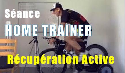 récupération active sur home trainer