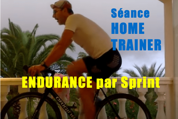 Home trainer en endurance par salves de sprint Ep2i en Espagne