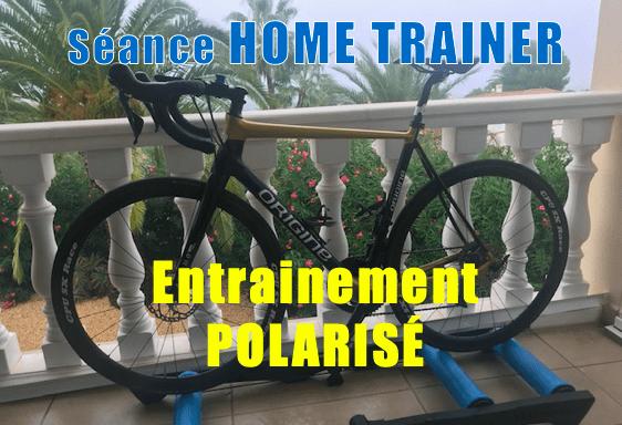 Home Trainer polarisé en 40 minutes avec une belle chute