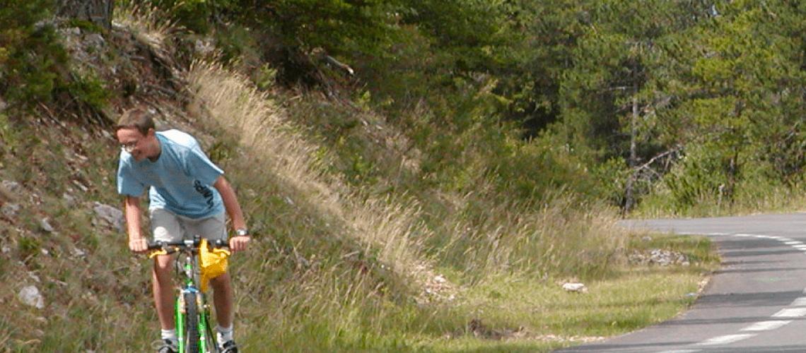 Romain Garcin Ventoux jeune