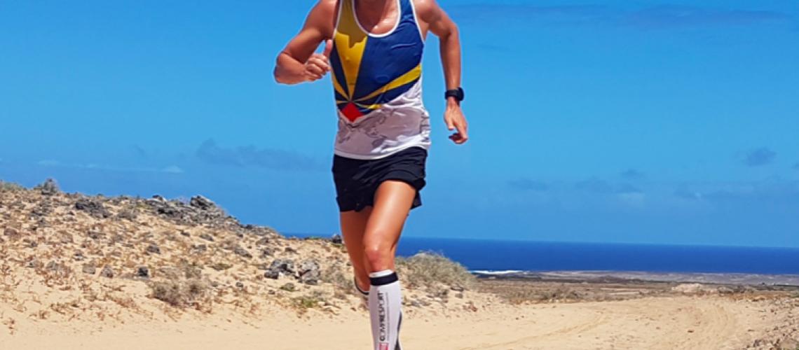 Romain garcin trail lazarote